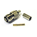 TNC Straight Crimp Socket For RG178, RG196 (50 Ohm)