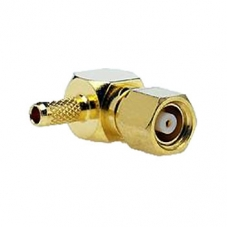 SMC Right Angle Crimp Plug For RG174